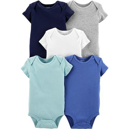 Baby Boy Carters 5-Pack Short-Sleeve Original Bodysuits