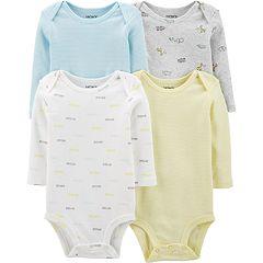 Baby Boy Carters 4-Pack Striped Original Bodysuits
