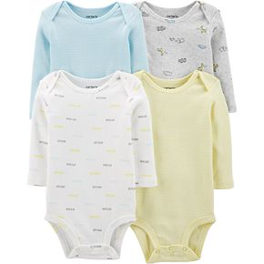 Baby Boy Carters 4-Pack Striped Original Bodysuits