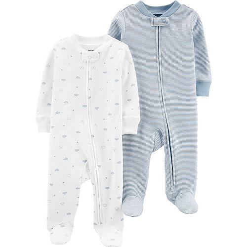 Baby Boy Carter's 2 Pack Zip Sleep & Plays