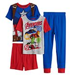 Boys 6-12 Marvel Avengers Infinity Wars 4-Piece Pajama Set