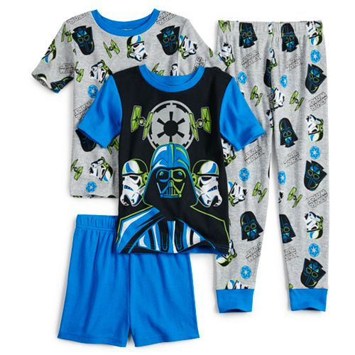 Boys 6-12 Star War Elite Empire 4-Piece Pajama Set