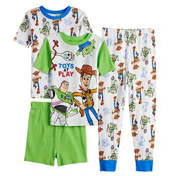 Disney Baby-Boys Baby Toy Story 4-Piece Cotton Pajama Set