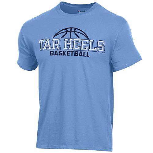 Men's Champion North Carolina Tar Heels Basketball Tee