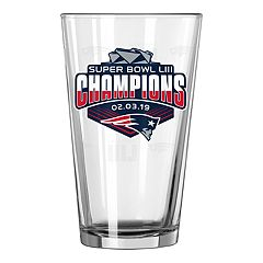 Boelter New England Patriots Super Bowl LIII Champions Pint Glass