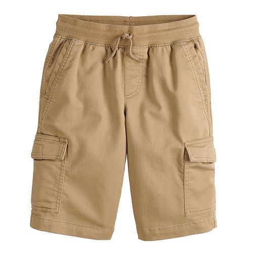 Boys 8-20 Urban Pipeline™ Stretch Knit Cargo Shorts in Reg & Husky