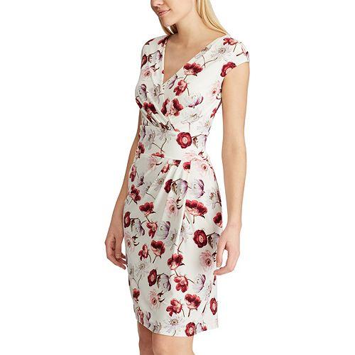 5d67a6980c8 Women s Chaps Pleated Surplice Dress