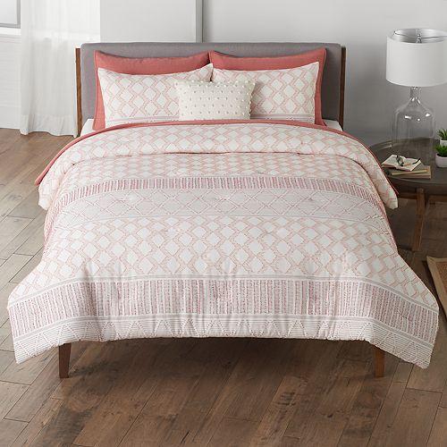 SONOMA Goods for Life™ Canyon Clip Jacquard Comforter Set