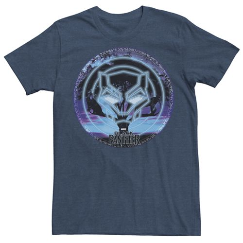 Men's Marvel Black Panther Tree Panthers Graphic Tee