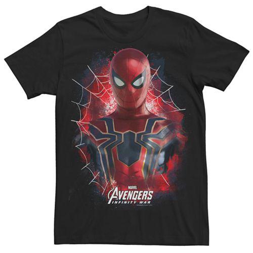 Men's Marvel Avengers Infinity War Iron Spider-Man Graphic Tee