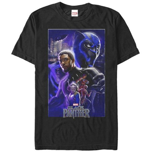 Men's Marvel Black Panther Poster Tee