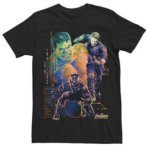 Men's Avengers Infinity War Ultimate Three Tee