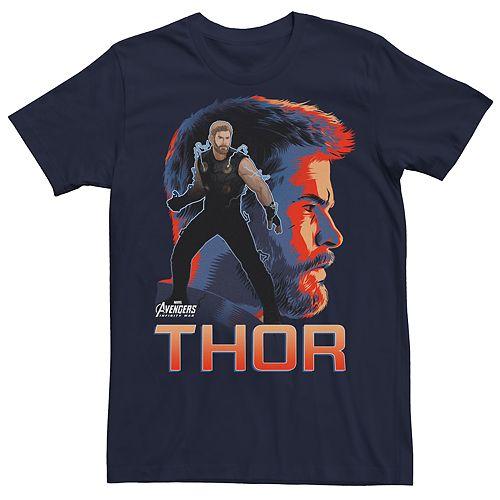 Men's Avengers Infinity War Thor Character Tee
