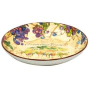 Certified International Vino Pasta Serving Bowl