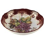 Certified International Vintners Journal Pasta Serving Bowl