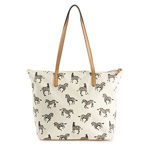 Sonoma Goods For Life® Print Canvas Tote