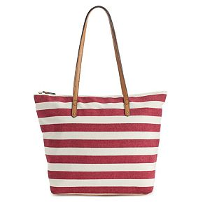 SONOMA Goods for Life? Striped Canvas Tote