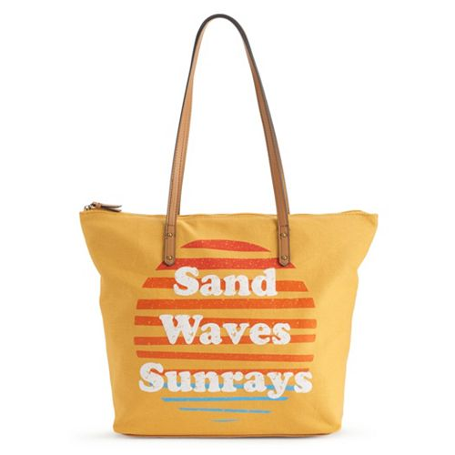 SONOMA Goods for Life™ Striped Canvas Tote