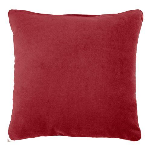 Mina Victory Solid Velvet Throw Pillow