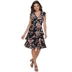 7d9d8f8f616 Women s ELLE™ Ruffle Faux-Wrap Dress