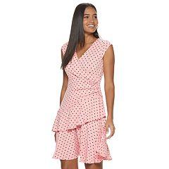 4403e947260e Women's ELLE™ Ruffle Faux-Wrap Dress