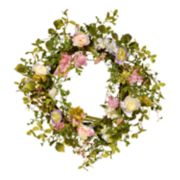 National Tree Company Spring Artificial Floral Wreath
