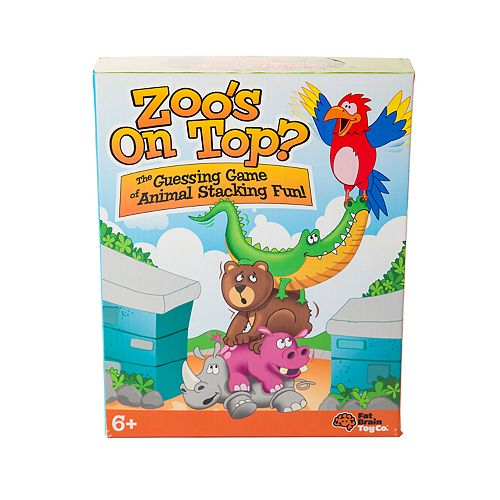 Fat Brain Toys Zoo's On Top Game
