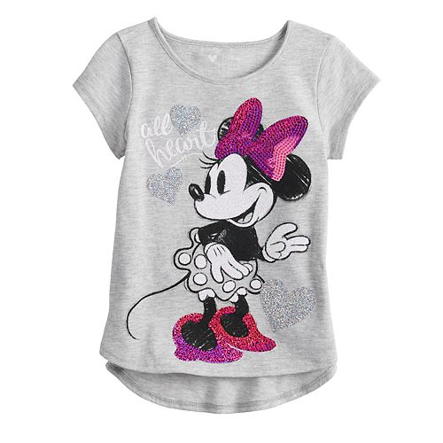 Disney's Minnie Mouse Girls' Jumping Beans Graphic Tee