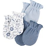 Baby Boy Carters 3-Pack Mittens