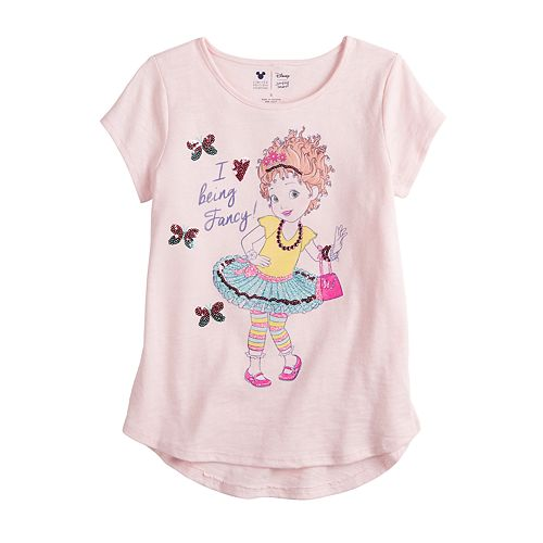 "Disney's Fancy Nancy Toddler Girl ""I Love Being Fancy"" Graphic Tee by Jumping Beans®"