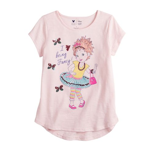 "Disney's Fancy Nancy Girls 4 12 ""I Love Being Fancy"" Graphic Tee By Jumping Beans® by Disney's Fancy Nancy Girls 4 12 ""I Love Being Fancy"" Graphic Tee By Jumping Beans"