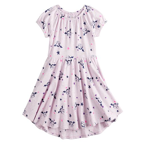 Disney's Vampirina Girls 4-12 Hi-Low Hem Dress Jumping Beans®