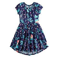 eeb97112bd25 Disney s The Little Mermaid Ariel Girls 4-12 Hi-Low Hem Dress by Jumping