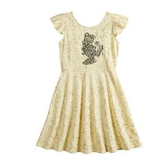 Disney's Beauty and the Beast Belle Girls 4-12 Printed Dress by Jumping Beans®