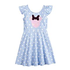 Disney s Minnie Mouse Girls 4-12 Flip-Sequin Polka-Dot Dress by by 45b38494e38d