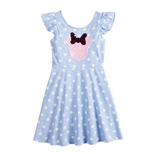 Disney's Minnie Mouse Girls 4-12 Flip-Sequin Polka-Dot Dress by by Jumping Beans®