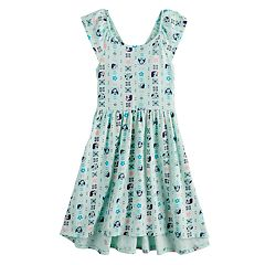 Disney's Minnie Mouse Girls 4-12 Print Skater Dress by Jumping Beans®