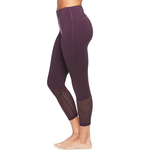 334340f8978402 Women's Gaiam Cora Yoga Midrise Capri Leggings