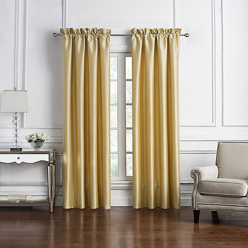 Marquis By Waterford 2-pack Russell Window Curtain