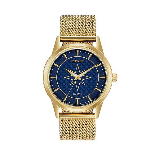 Marvel Captain Marvel Stainless Steel Watch by Citizen