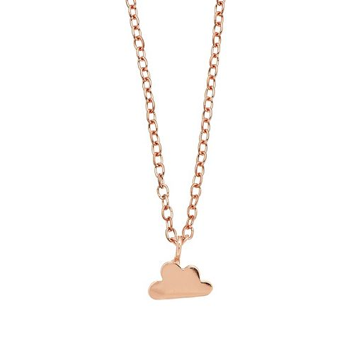 LC Lauren Conrad Cloud Pendant Necklace