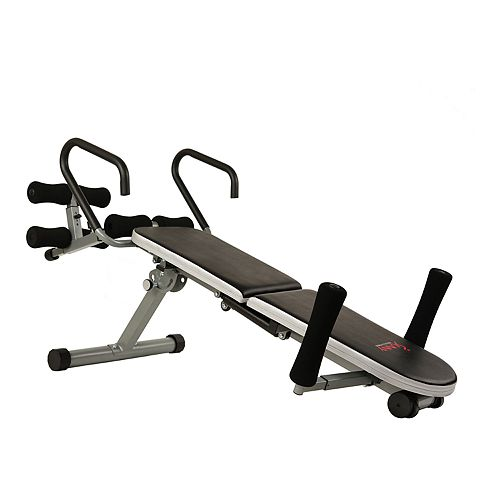 Sunny Health & Fitness Invert Extend N Go Back Stretcher Bench