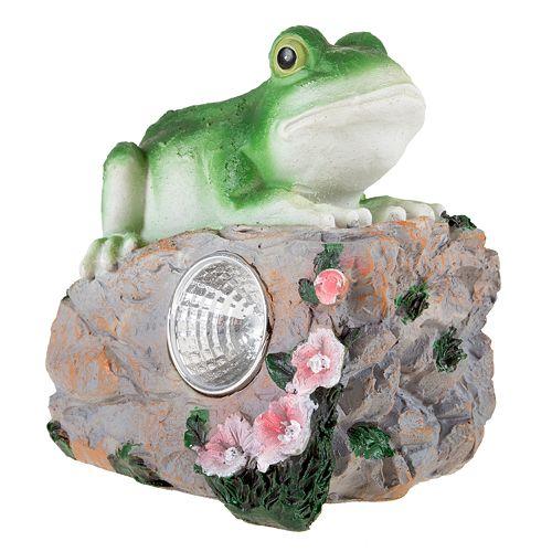 Pure Garden Frog Landscape Light