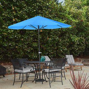 Pure Garden Blue Patio Umbrella