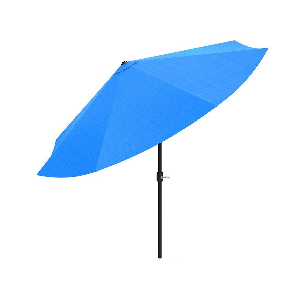 Pure Garden Blue Auto Tilt Patio Umbrella