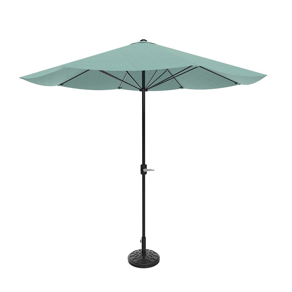 Pure Garden Dusty Green Patio Umbrella