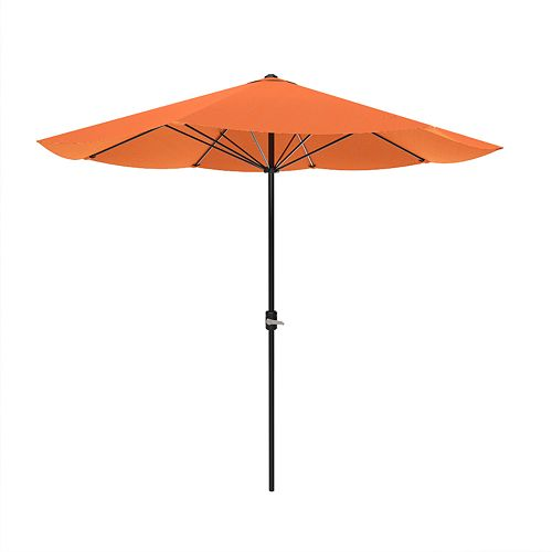 Pure Garden Orange Patio Umbrella