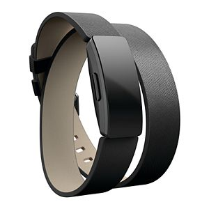 Fitbit Inspire Double Wrap Leather Accessory Band