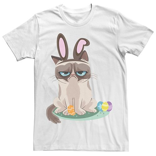 Men's Grumpy Cat Easter Tee
