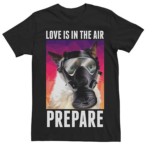 Men's Grumpy Cat Love Is In The Air Tee